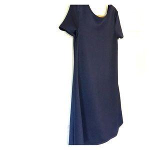 Navy Blue no waist mini from ModCloth